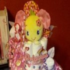Flower Princess Diaper Cake
