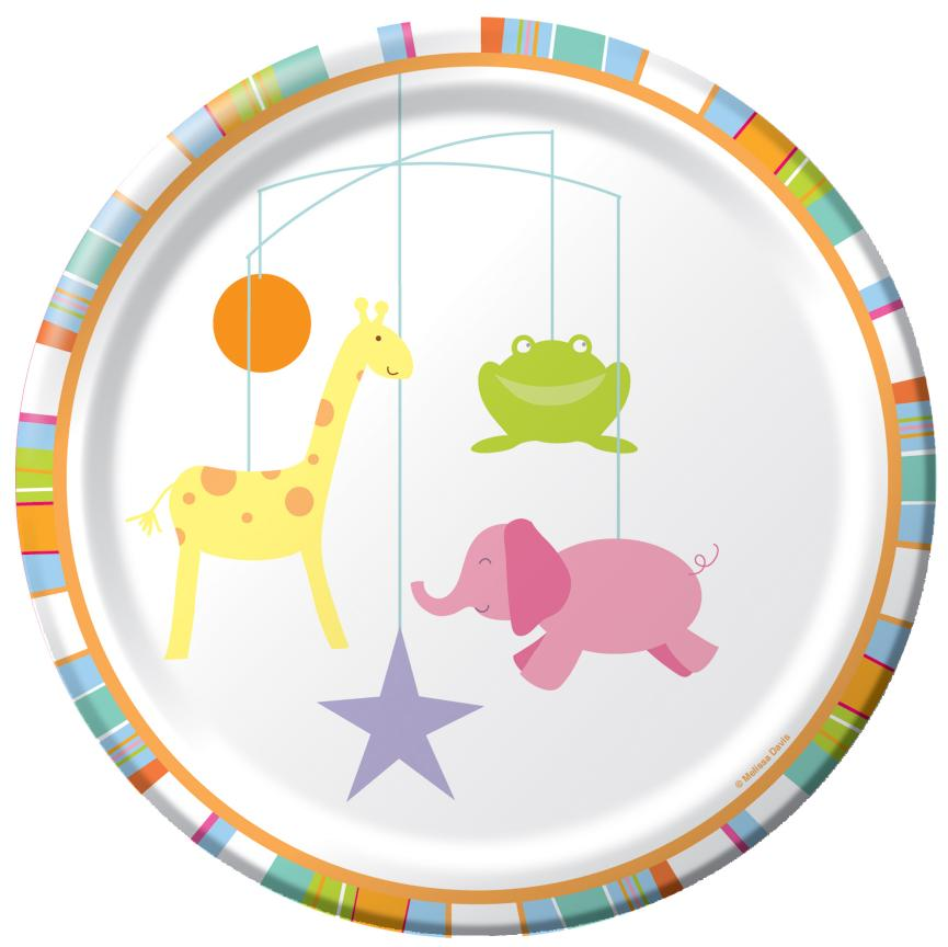 Mobile Animals Banquet Plate