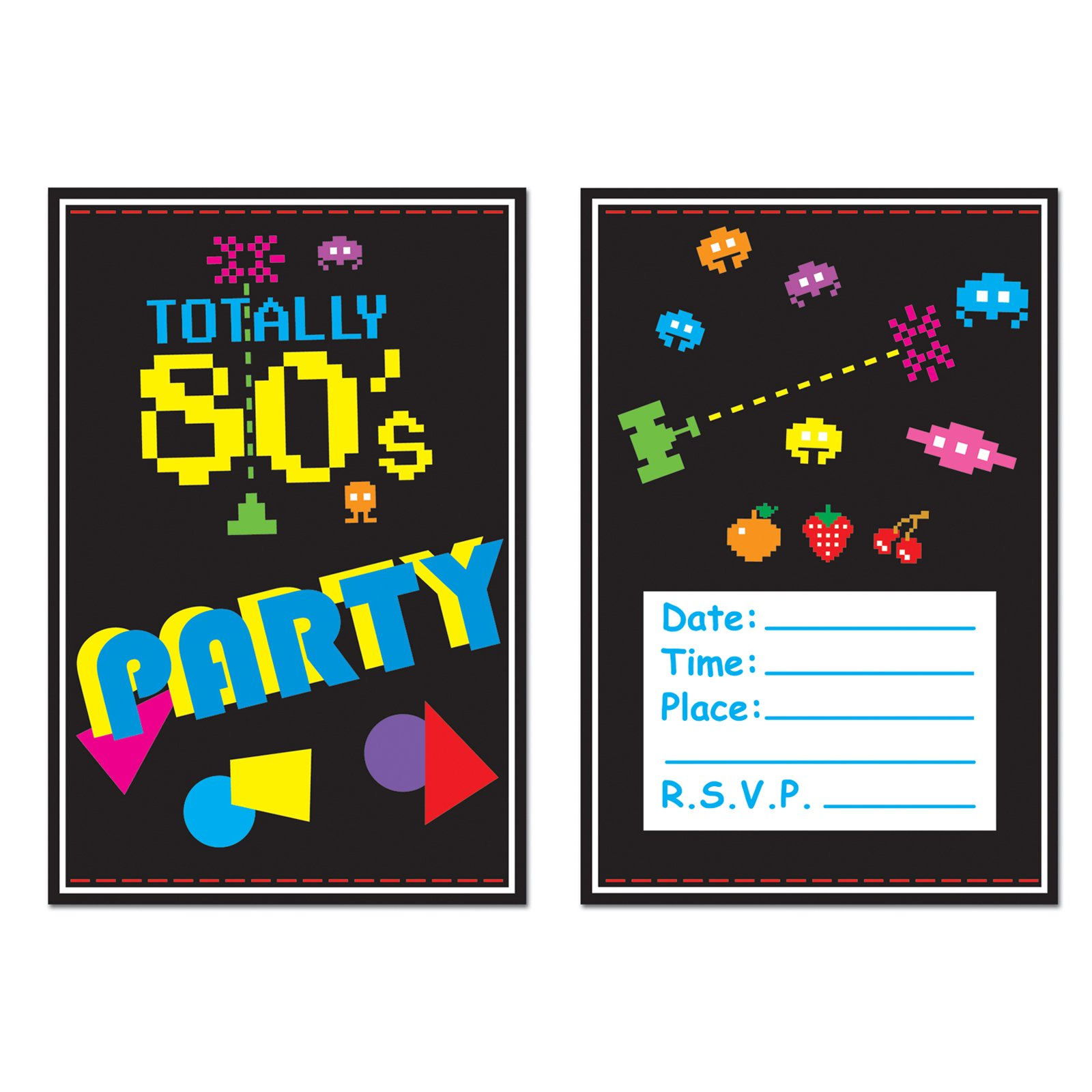 80S Party Invitation Ideas – 80s Party Invitation Wording