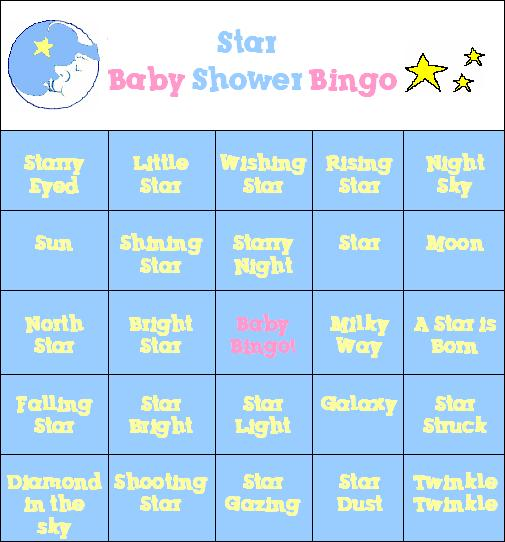 cute and fun moon and star baby shower theme party