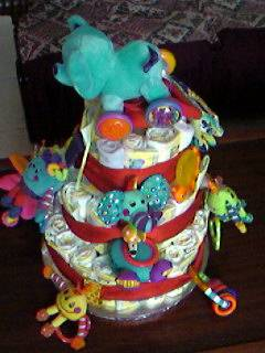 toy diaper cake ideas