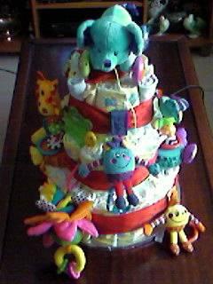 Toy Diaper Cake