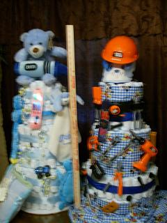 Couples Diaper Cakes