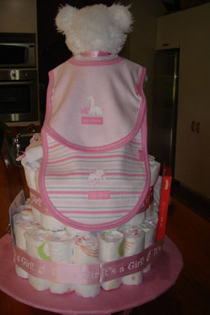 Pink Bear Diaper Cake Pictures And Ideas To Help You
