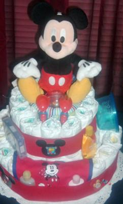 Mickey cake 3 Tier