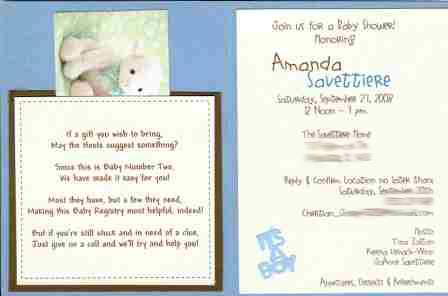 these boy diaper cake ideas will inspire you, Baby shower invitation