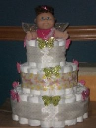 Cute Diaper Cake Design