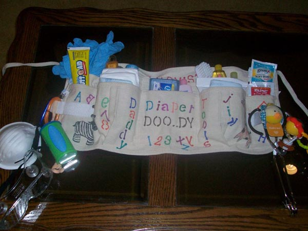 diaper changing toolkit