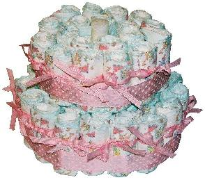 diaper cake pictures