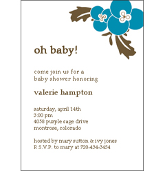 Scrapbooking Baby Shower