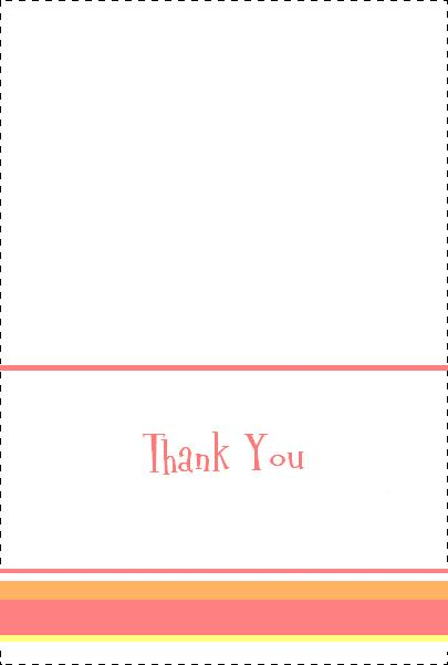 Cute & Free Baby Shower Thank You Notes