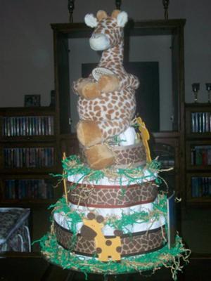 Gentle Giraffe Cake