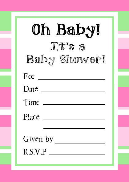 Free Printable Baby Shower Invitations that you haven\'t seen ...