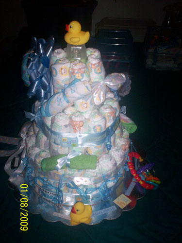 Its a Boy Diaper Cake