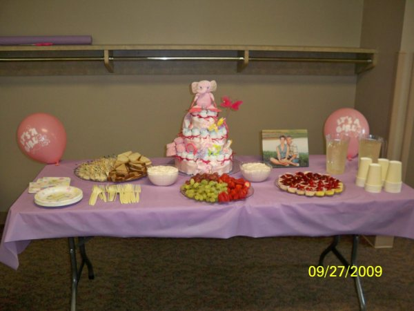 its a girl baby shower theme with all sorts of cute ideas