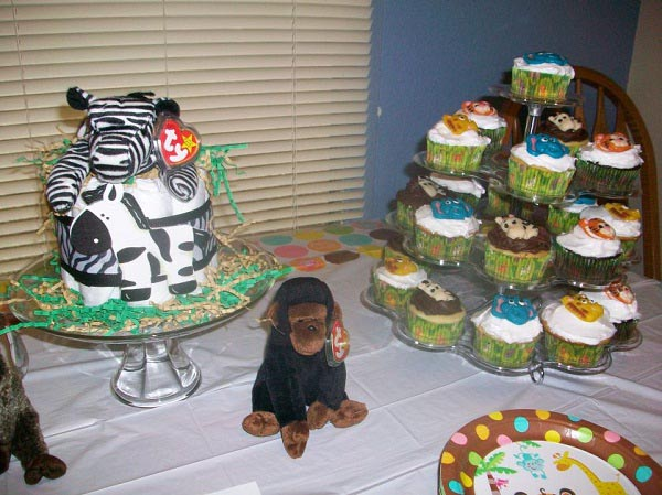real jungle baby shower  see the photos and read the story, Baby shower invitation