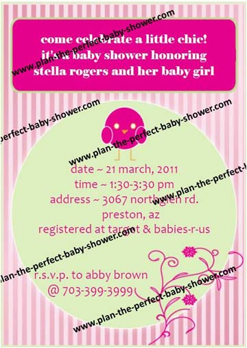 Little Chic Invitation