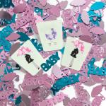 Mod Mom Baby Shower Confetti