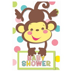Jungle Animals Baby Shower Invitation