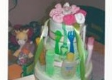 view - lori's diaper cake