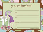 Parenthood Postcard Invitation
