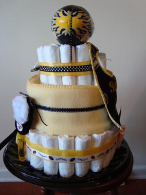 steelers cake topper