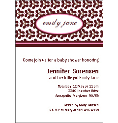 personalized baby shower cards invitations and baby announcements