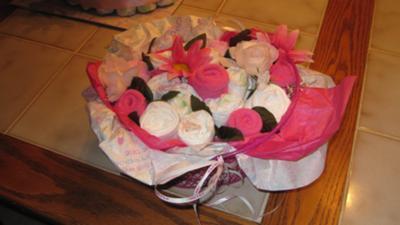Onesie Flower Bouquet