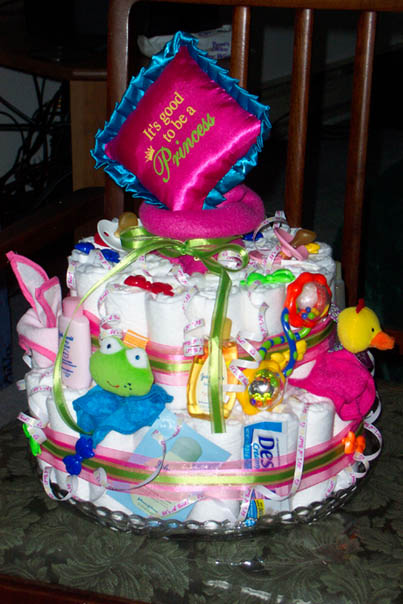 Princess Diaper Cake Recipe