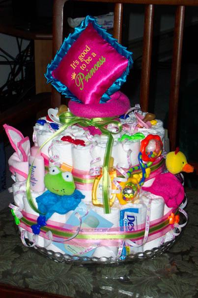Princess Diaper Cake Recipe