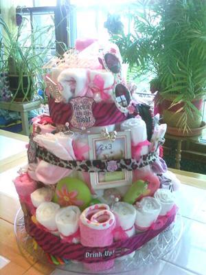 Rock Star Girl Cake