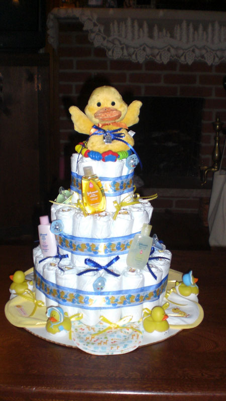 Rubber Ducky Diaper Cake Pictures Amp Ideas