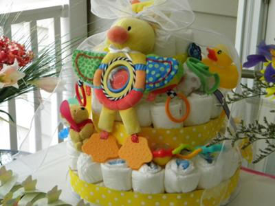Rubber Ducky Youre the One Diaper Cake