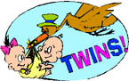 twins baby shower ideas