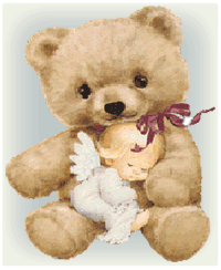 Teddy Bear Angel