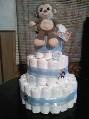 Tinas Monkey Cake