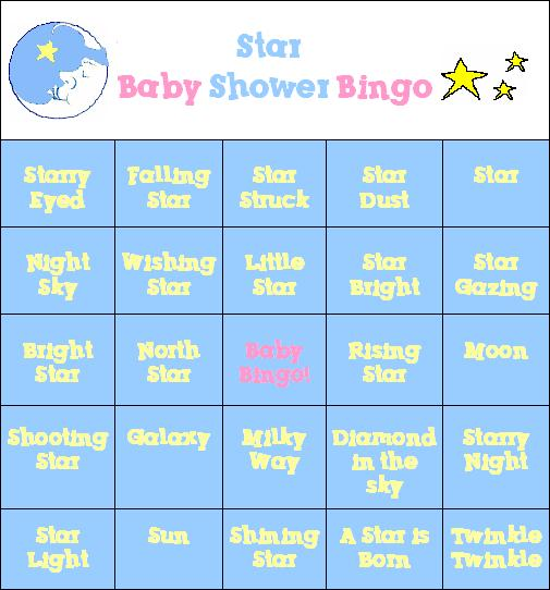 A fun baby shower game to print!