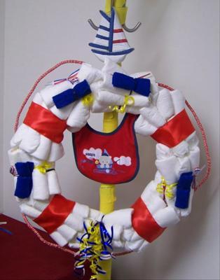 Ahoy! It's a Boy Life Saver/Life Ring