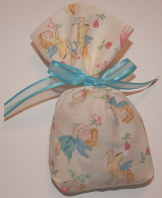Angel Pouch baby shower favor