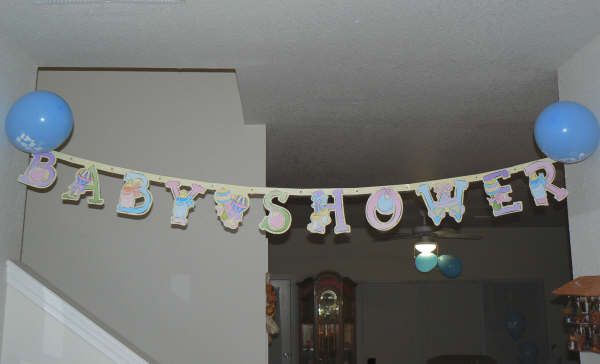 Its a Boy Baby Shower Banner
