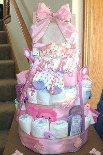 Precious Diaper Cake