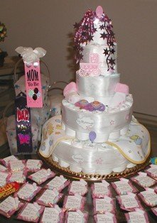 picture of baby shower cake
