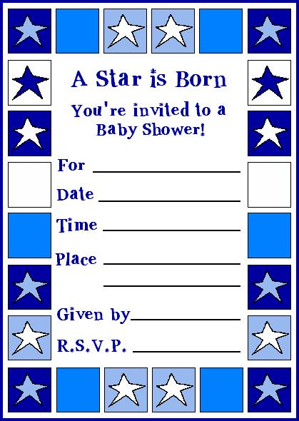 Creative baby shower invitations