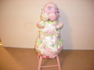 My diaper cake