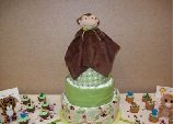 View - Cuddle Monkey Diaper Cake