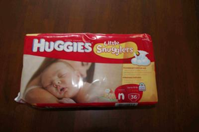 36-count newborn diapers
