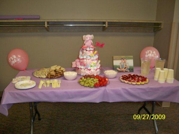 Its a Girl Diaper Cake