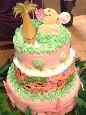 Diaper cake by Tutu Sherry