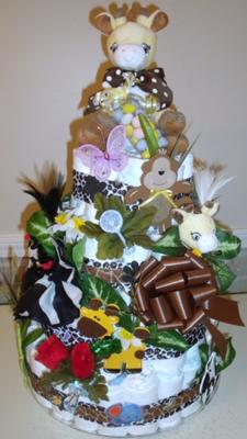 Church Nursery Baby Shower Cake