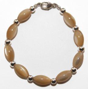 sanddollar baby bracelet